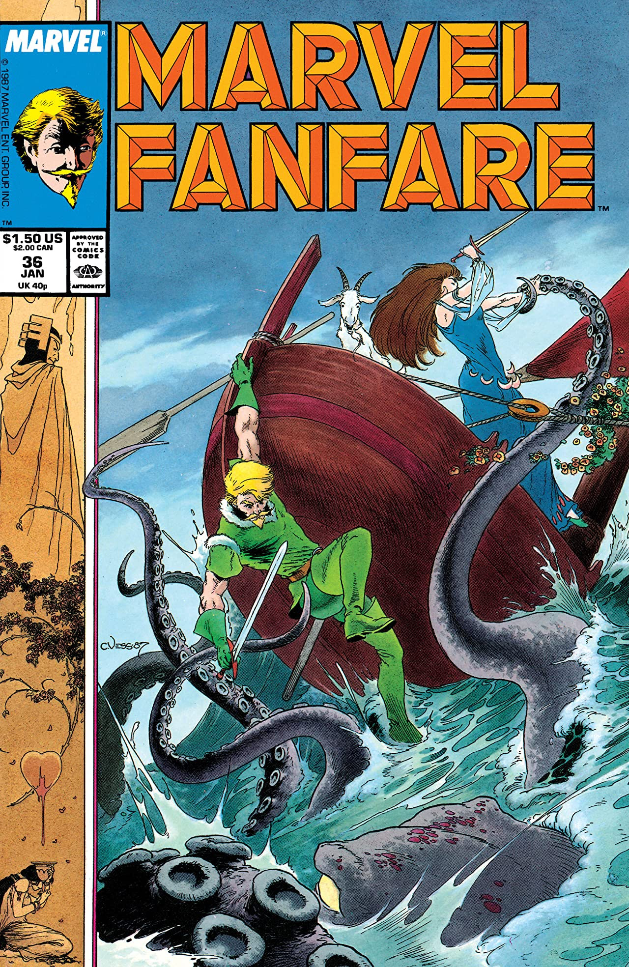 Marvel Fanfare Vol 1 36