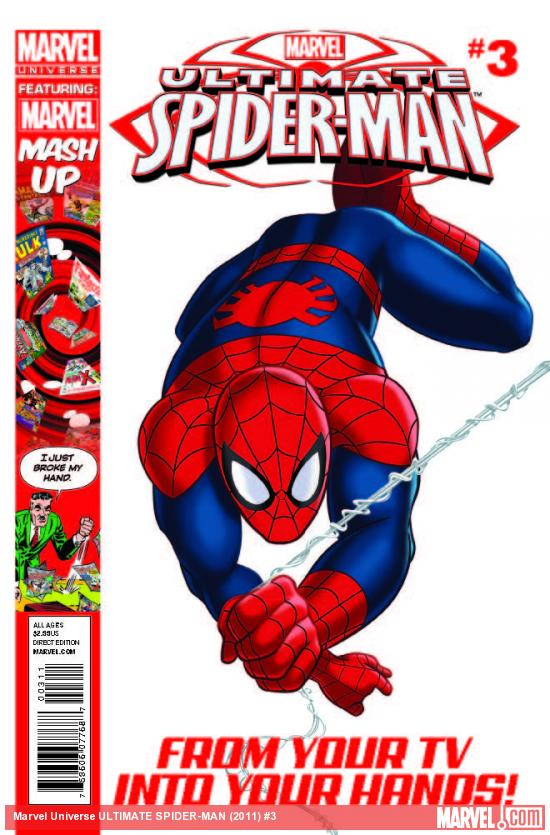 Marvel Universe: Ultimate Spider-Man Vol 1 3