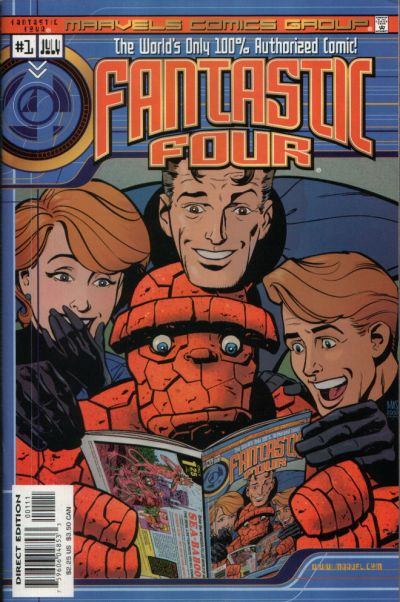 Marvels Comics: Fantastic Four Vol 1 1