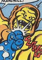 Molten Mandrill (Earth-8311) from Marvel Tales Vol 2 236 0001.jpg