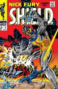 Nick Fury, Agent of SHIELD Vol 1 2