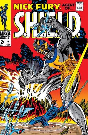 Nick Fury, Agent of SHIELD Vol 1 2.jpg