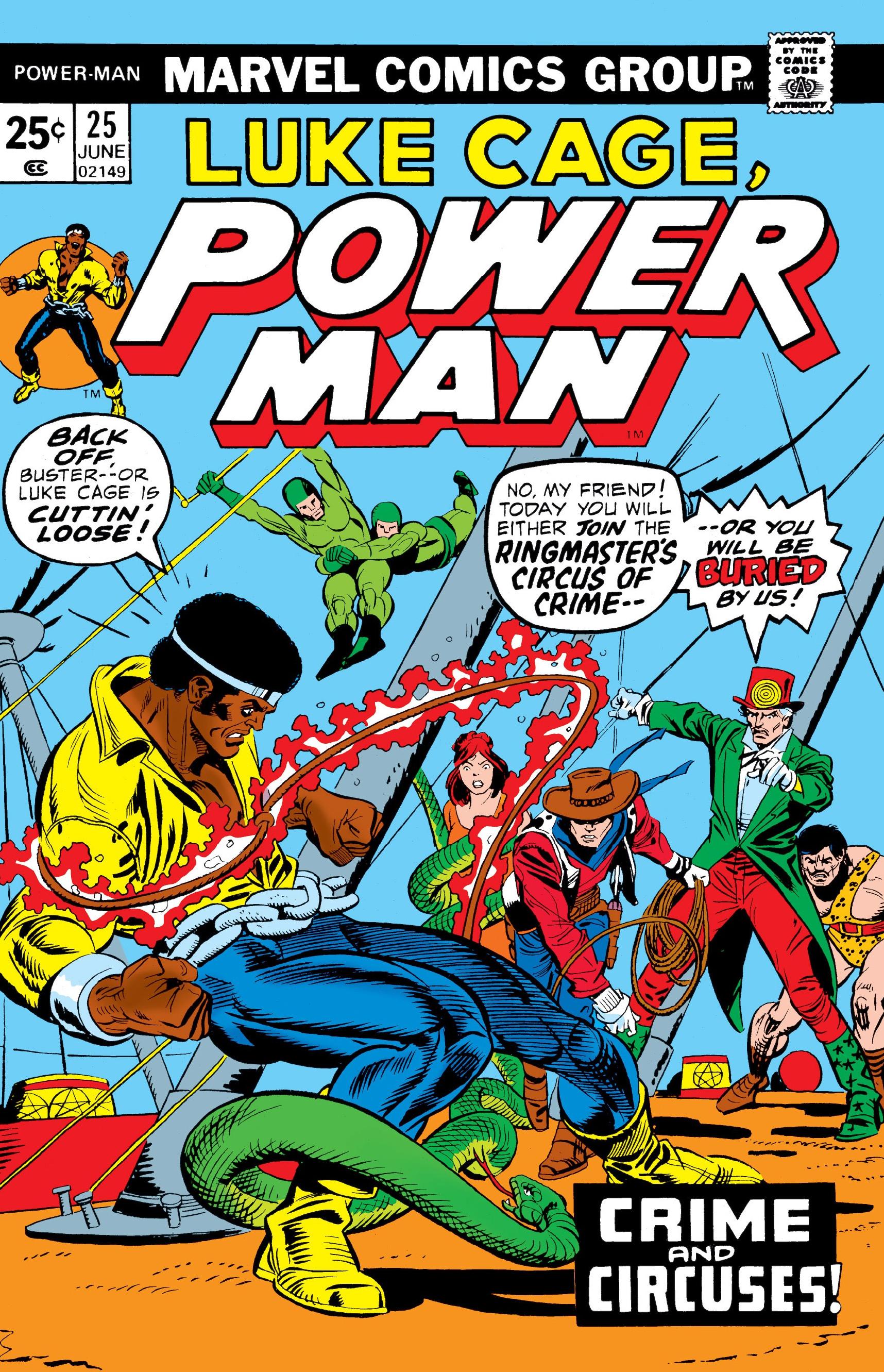 Power Man Vol 1 25