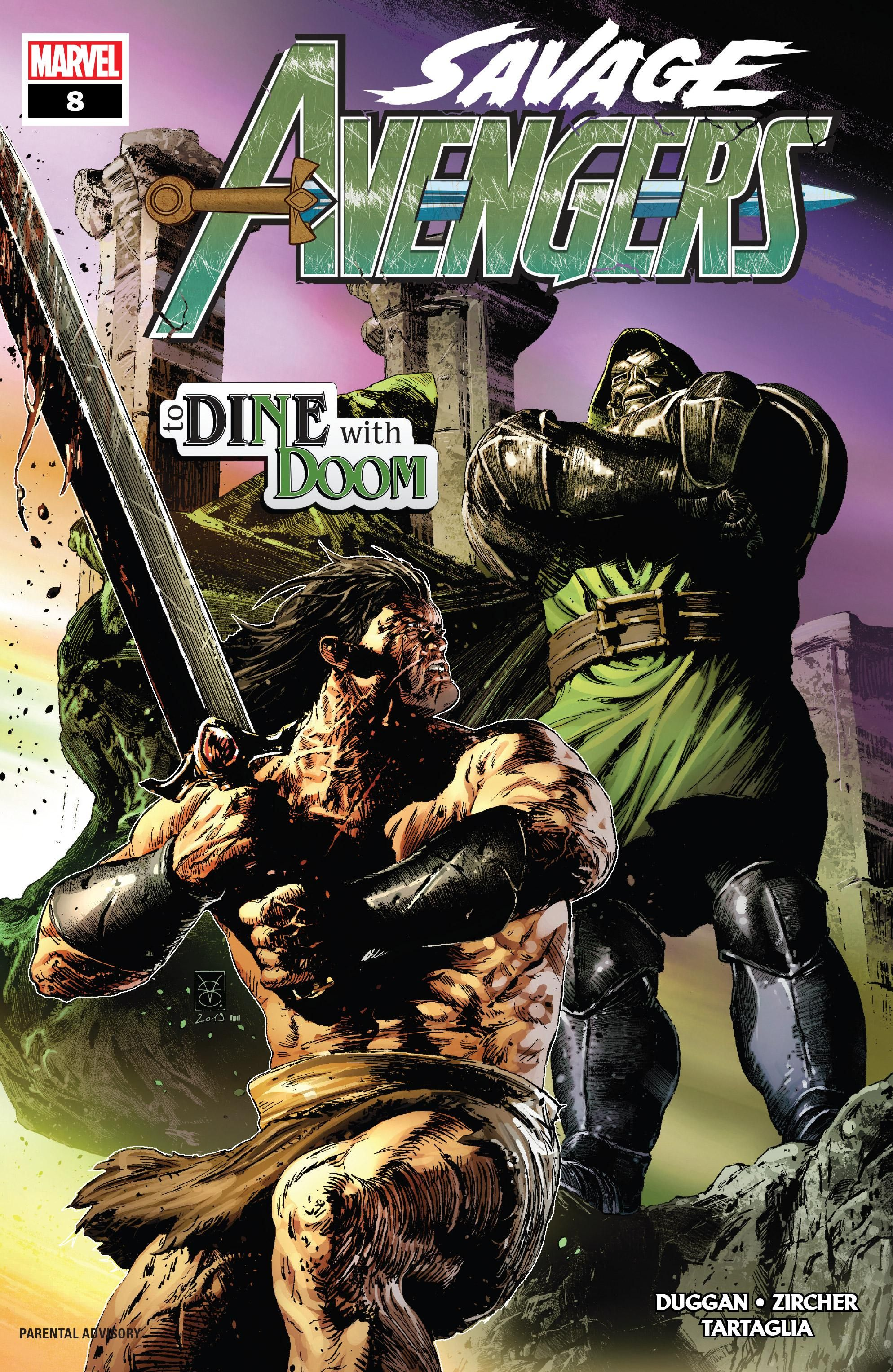 Savage Avengers Vol 1 8