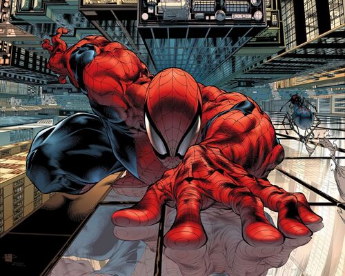 Spider-Man Wallcrawling