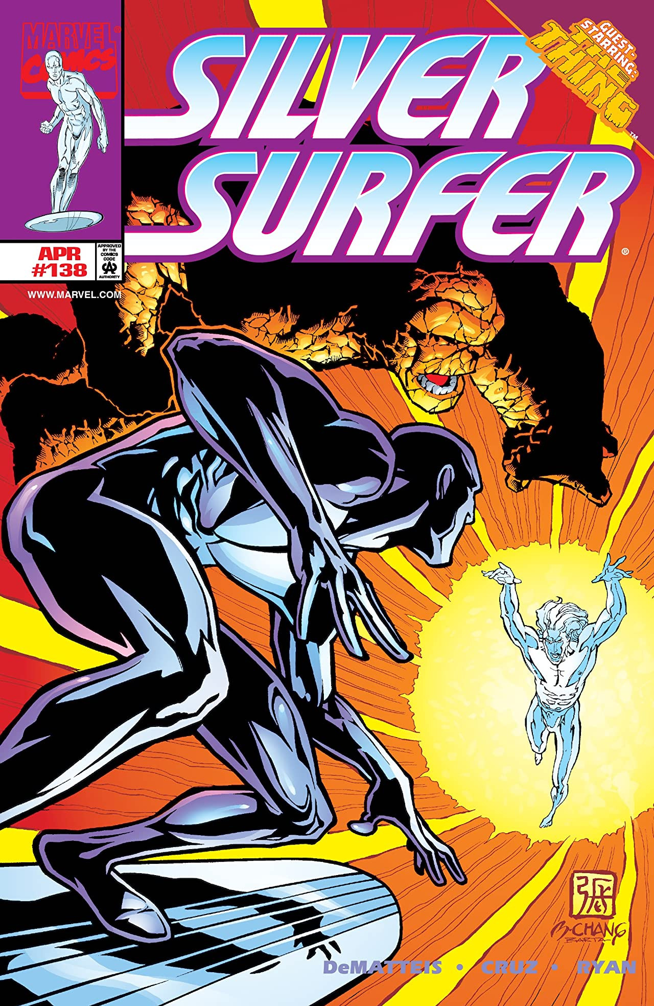 Silver Surfer Vol 3 138