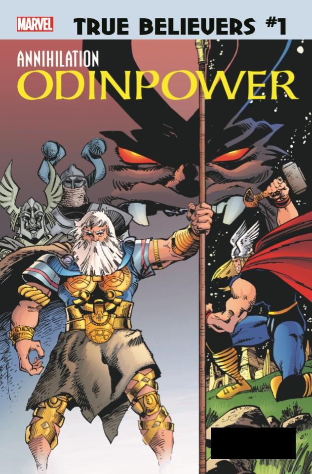 True Believers: Annihilation - Odinpower Vol 1 1