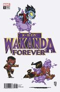 Wakanda Forever X-Men Vol 1 1 Young Variant
