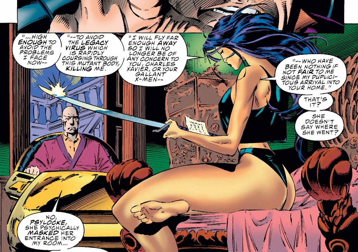 Elizabeth Braddock and Charles Xavier (Earth-616) from X-Men Vol 2 31 0001.jpg