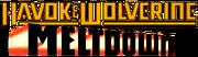 Havok and Wolverine Meltdown (1988) Logo.png