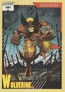 James Howlett (Earth-616) from Marvel Universe Cards Series II 0001