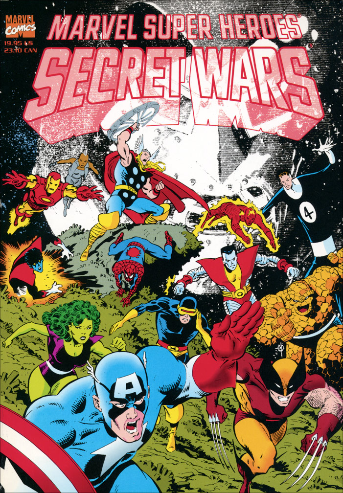 Marvel Super Heroes Secret Wars TPB Vol 1 1