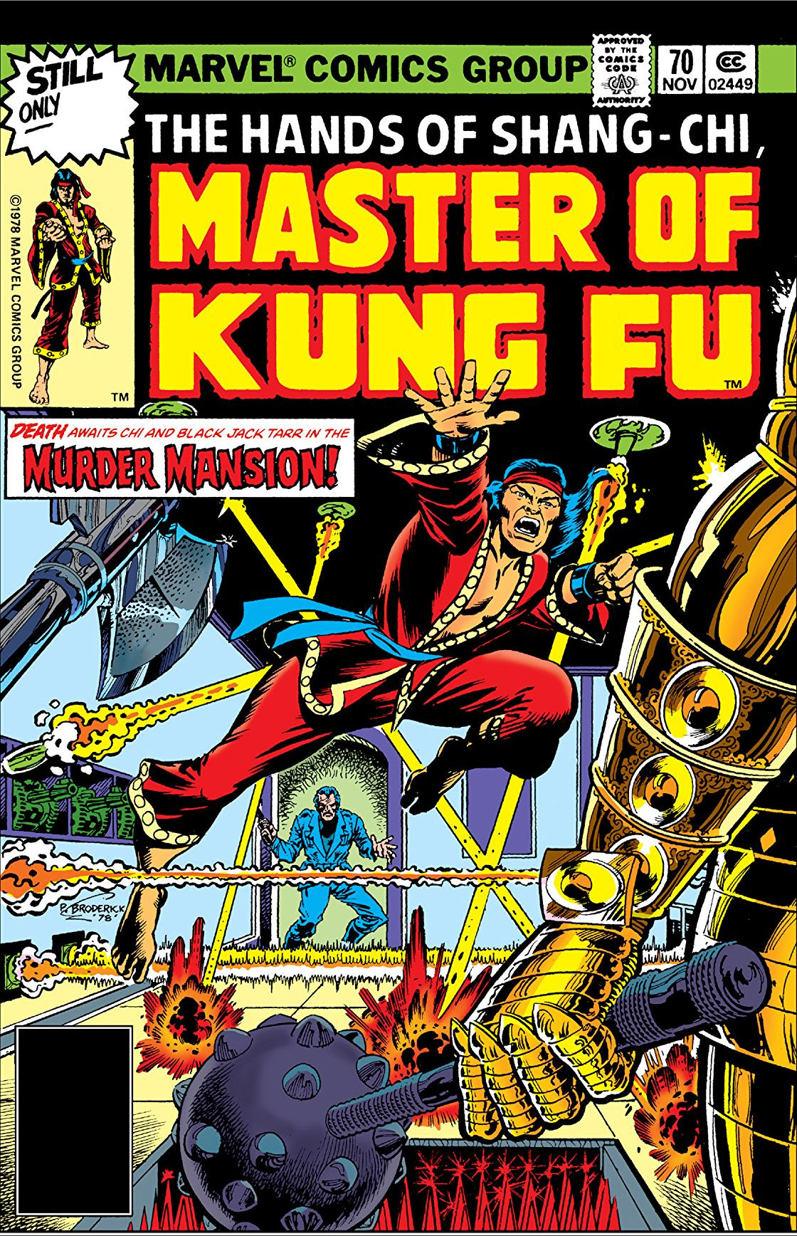Master of Kung Fu Vol 1 70