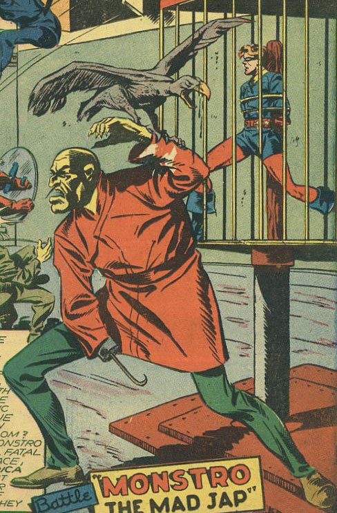 Monstro (WWII) (Earth-616)