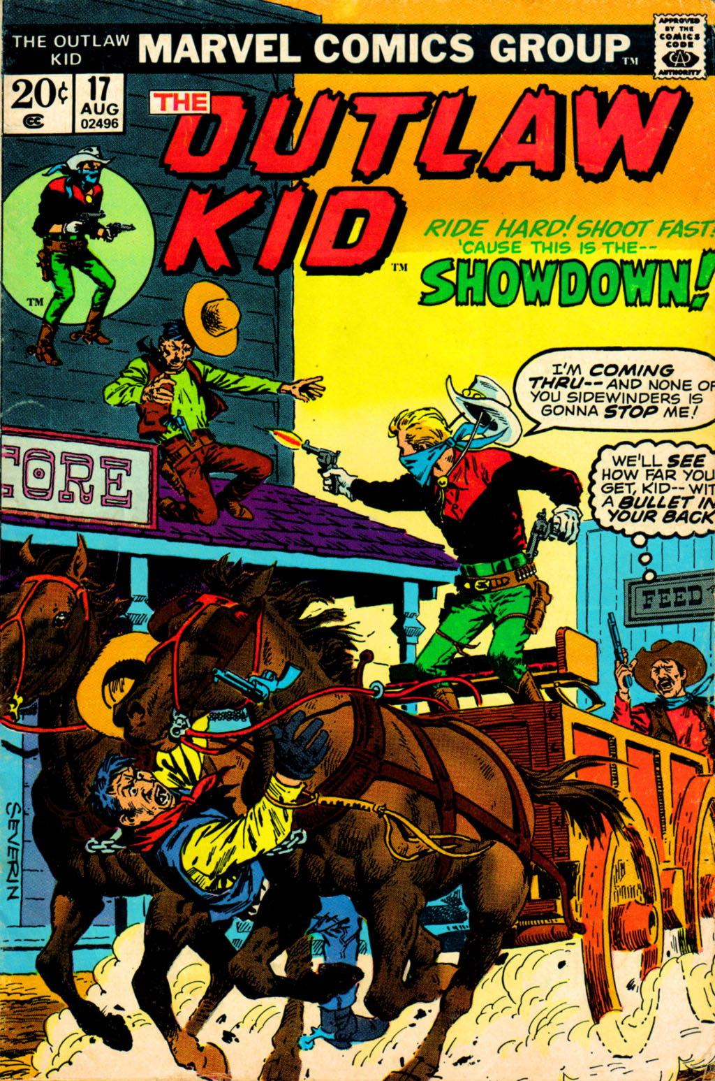 Outlaw Kid Vol 2 17