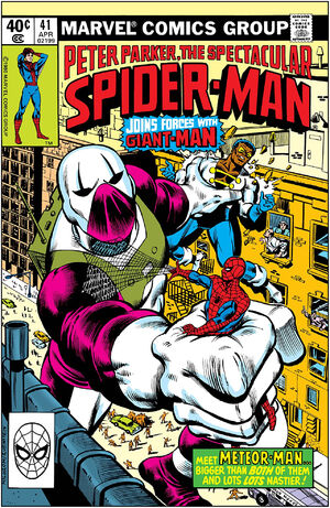 Peter Parker, The Spectacular Spider-Man Vol 1 41.jpg