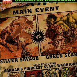 Planet Hulk: Gladiator Guidebook Vol 1 1