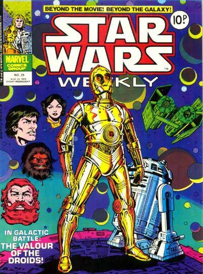 Star Wars Weekly (UK) Vol 1 29