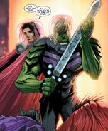 Theodore Altman (Earth-616) and William Kaplan (Earth-616) from New Avengers Vol 4 3 001