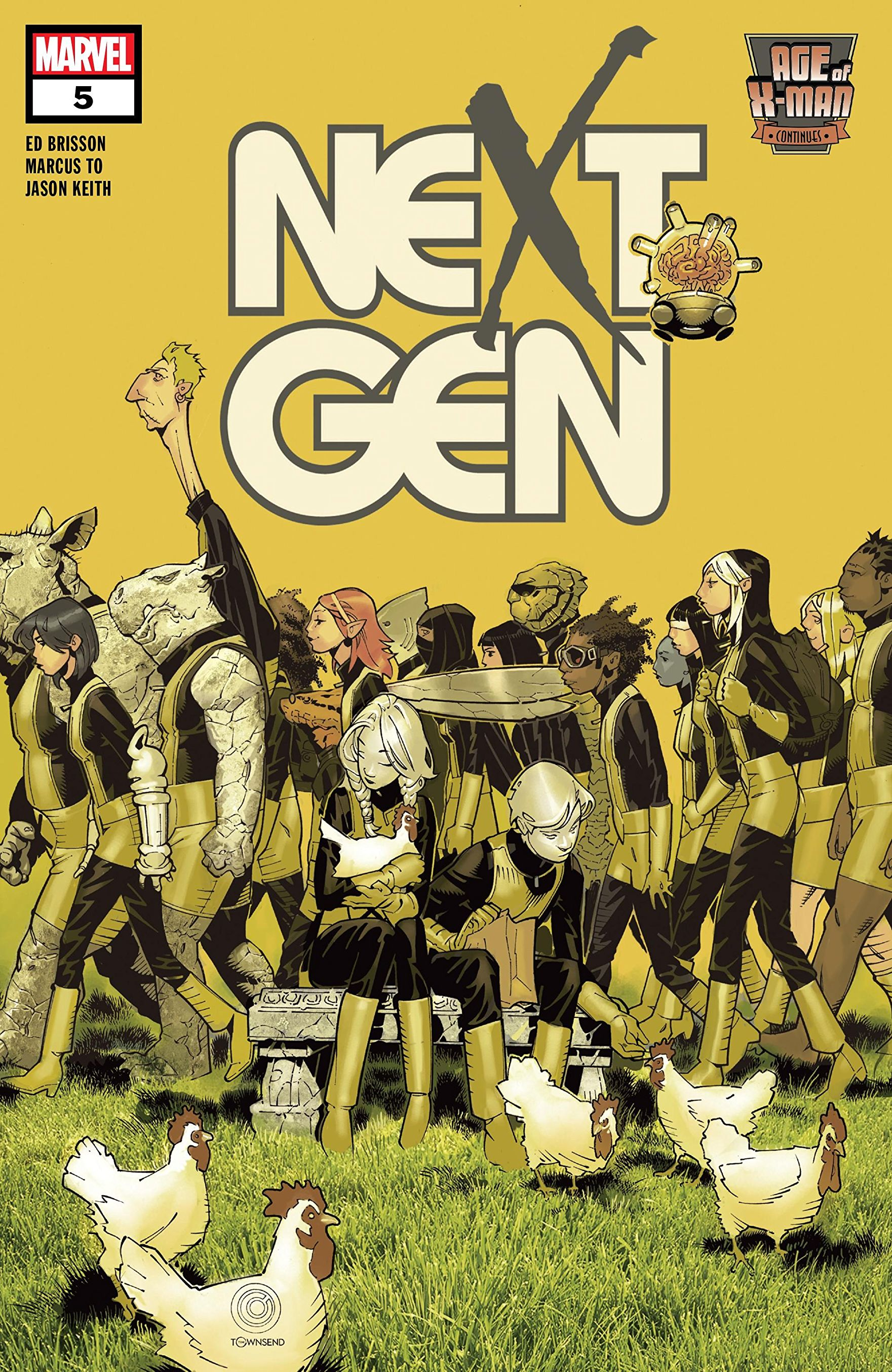 Age of X-Man: Nextgen Vol 1 5