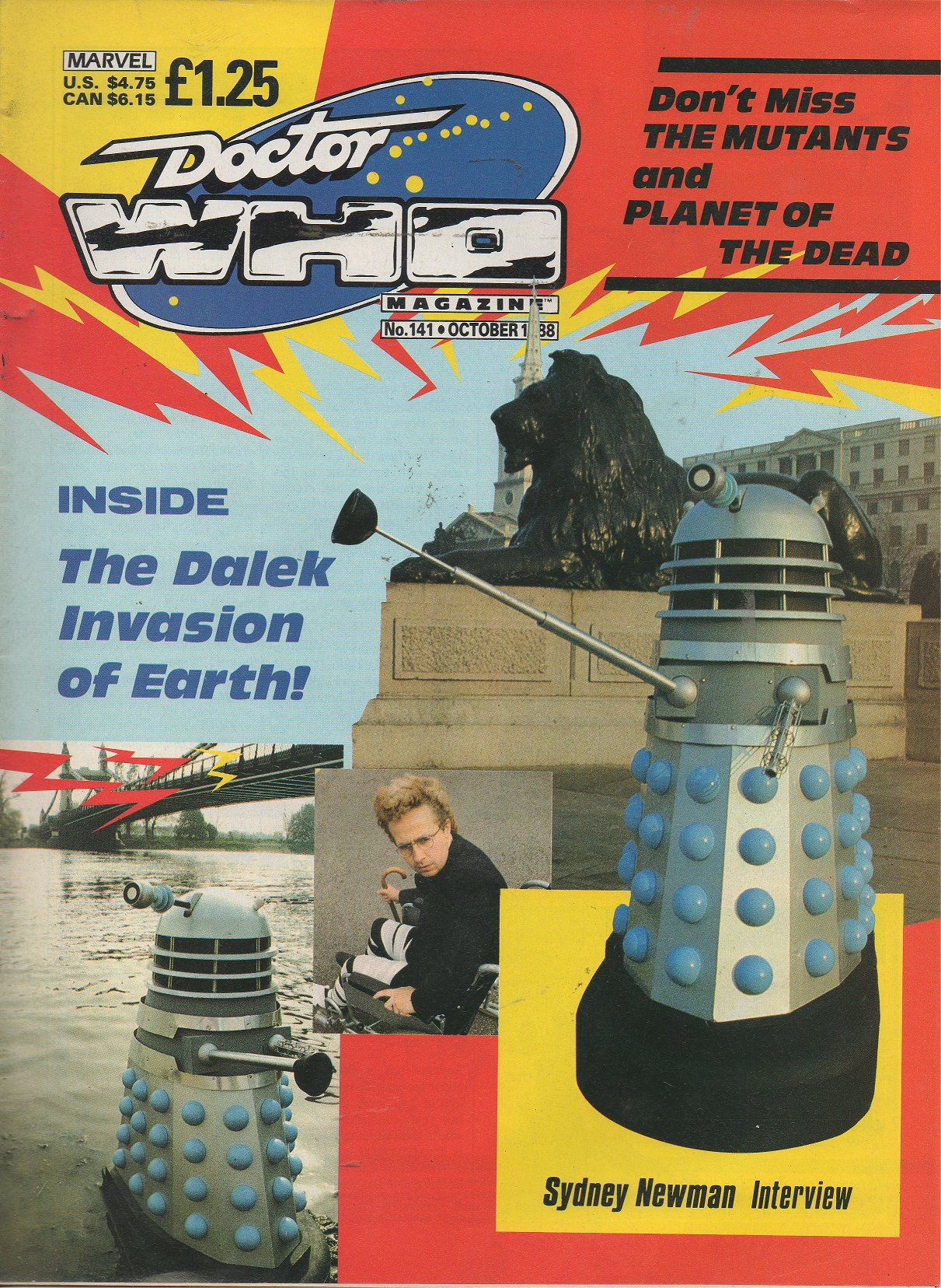 Doctor Who Magazine Vol 1 141