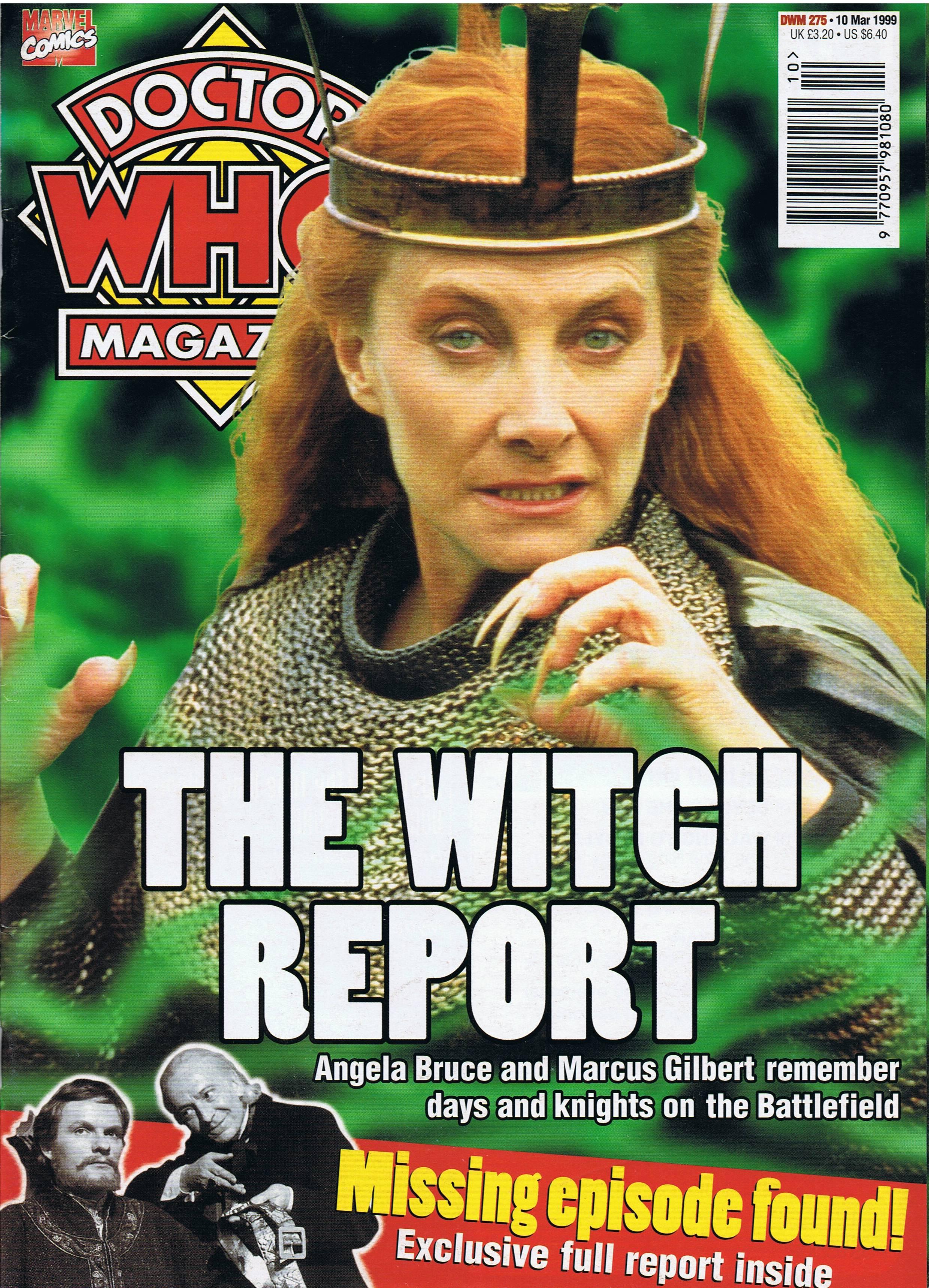 Doctor Who Magazine Vol 1 275