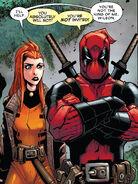 Elsa Bloodstone (Earth-616) and Wade Wilson (Earth-616) from Deadpool Vol 8 5 002
