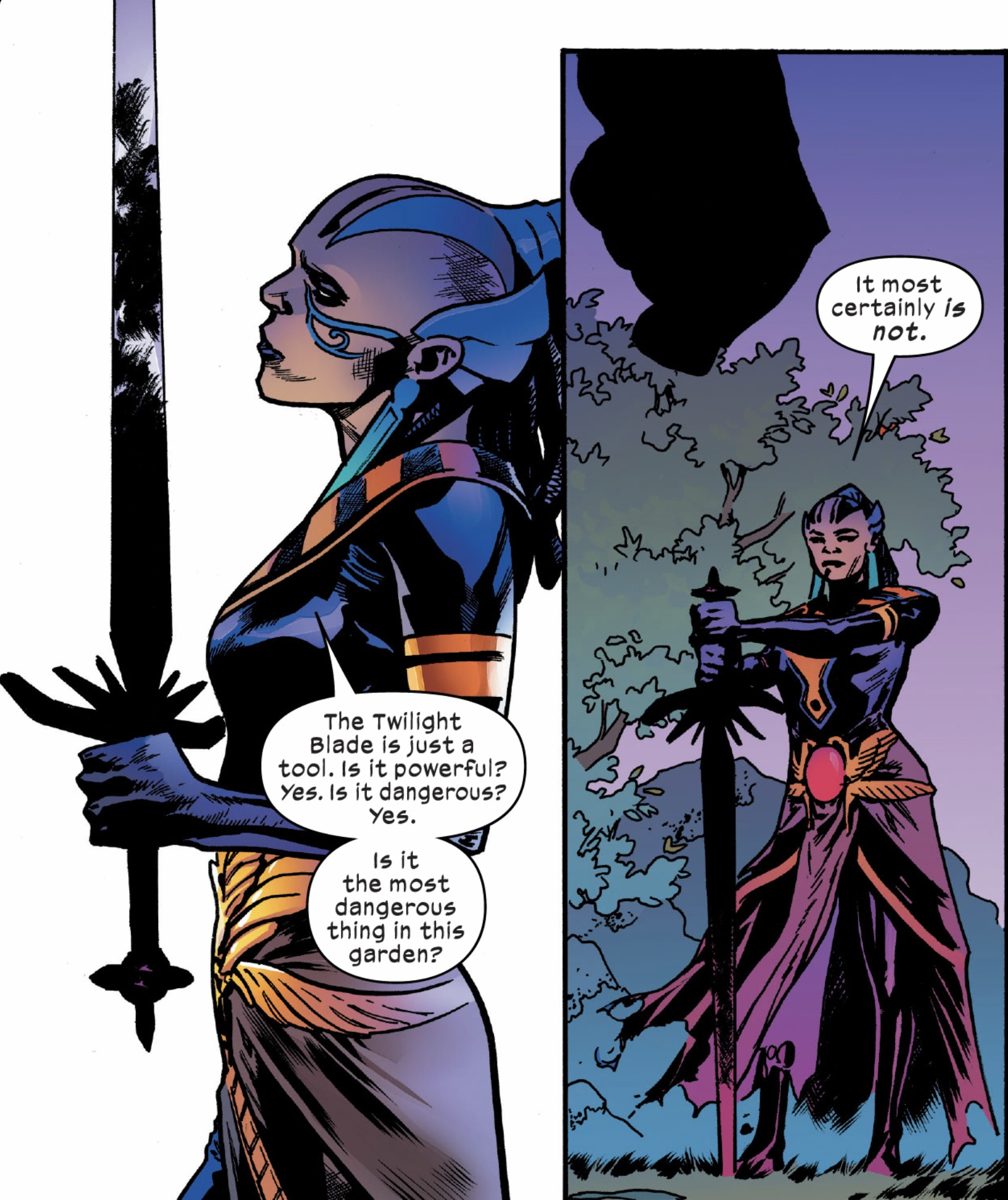Genesis (Earth-616) with Twilight Sword (Amenth) from X-Men Vol 5 14 002.jpg