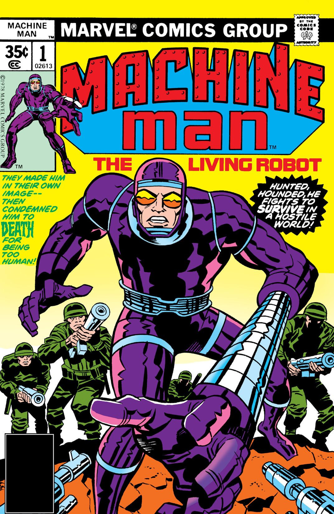 Machine Man Vol 1 1