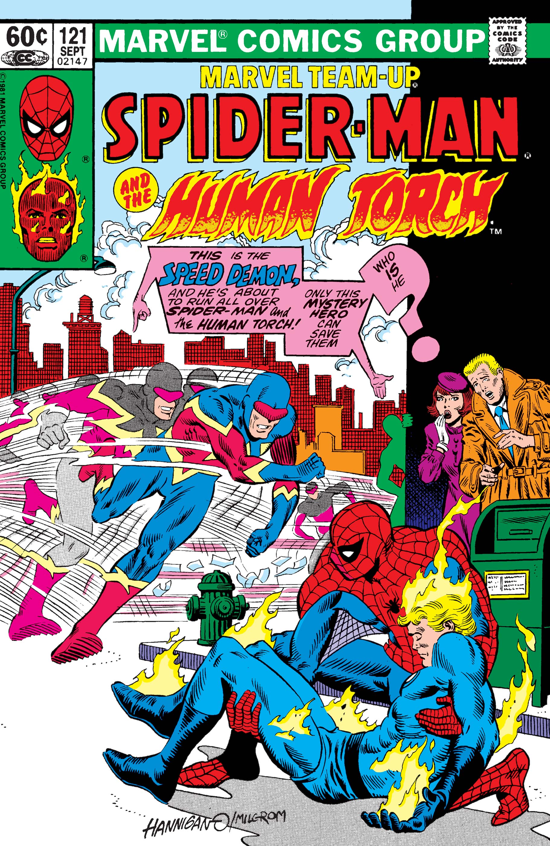 Marvel Team-Up Vol 1 121