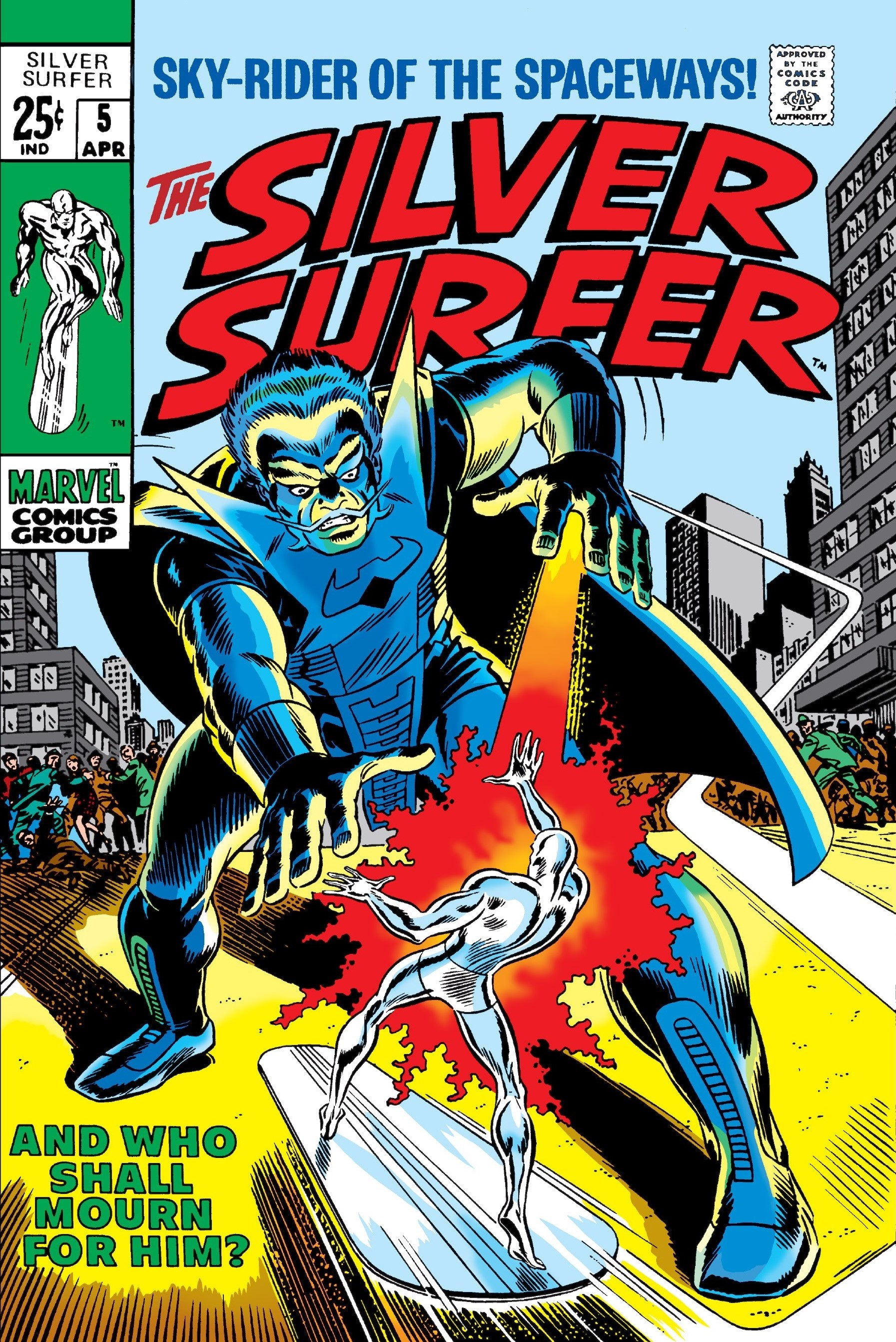 Silver Surfer Vol 1 5