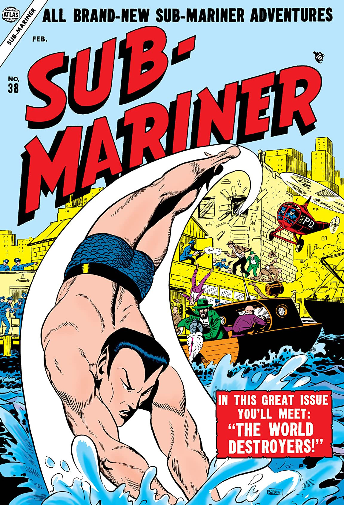 Sub-Mariner Comics Vol 1 38