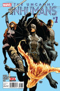 Uncanny Inhumans Vol 1 1