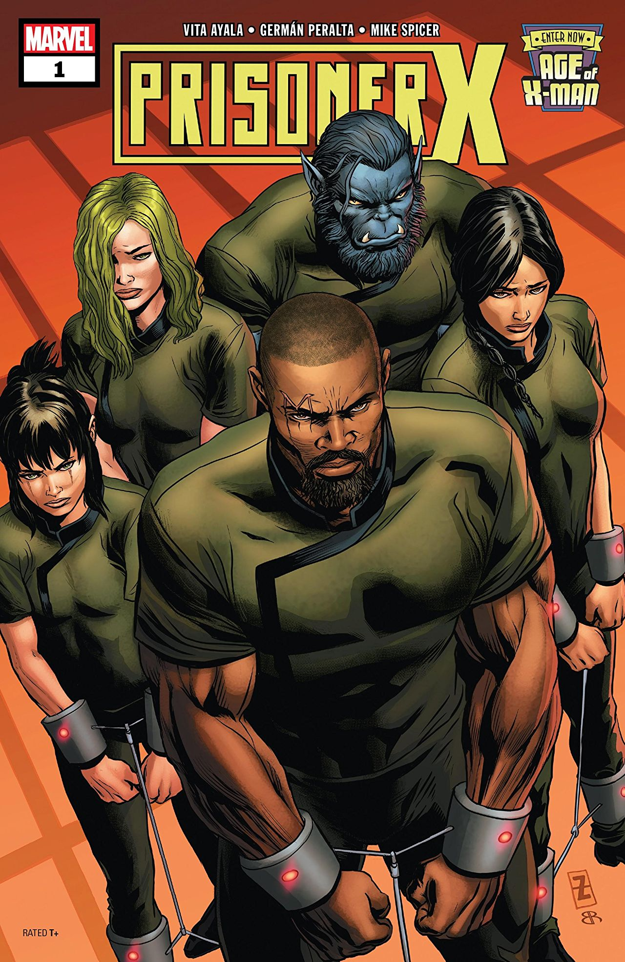 Age of X-Man: Prisoner X Vol 1 1