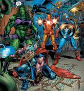 Avengers (Earth-616) from Immortal Hulk Vol 1 46 001