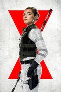 Black Widow (film) poster 013 textless