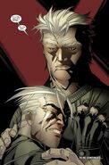 Erik Lensherr (Earth-1610) and Pietro Lensherr (Earth-1610) from Ultimate Comics X-Men Vol 1 7