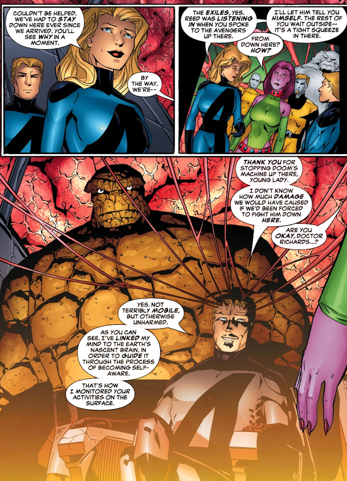 Fantastic Four (Earth-4162)/Gallery