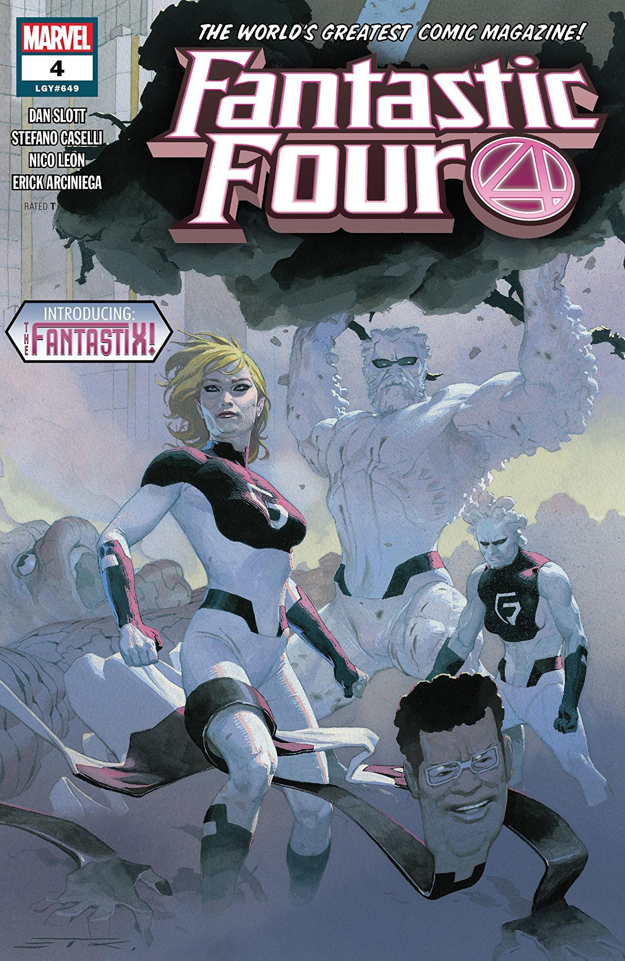 Fantastic Four Vol 6 4