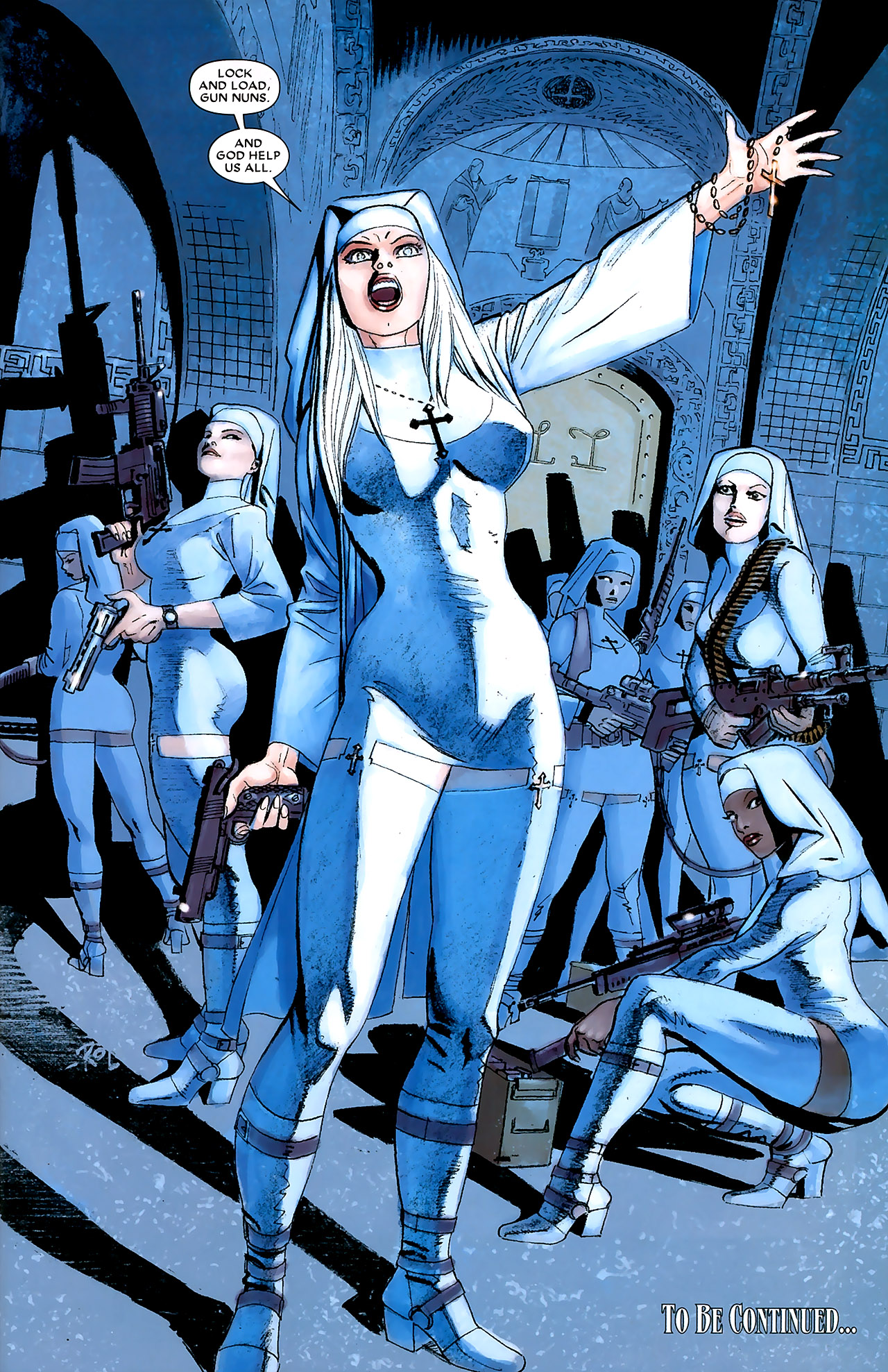 Gun Nuns (Earth-616)/Gallery