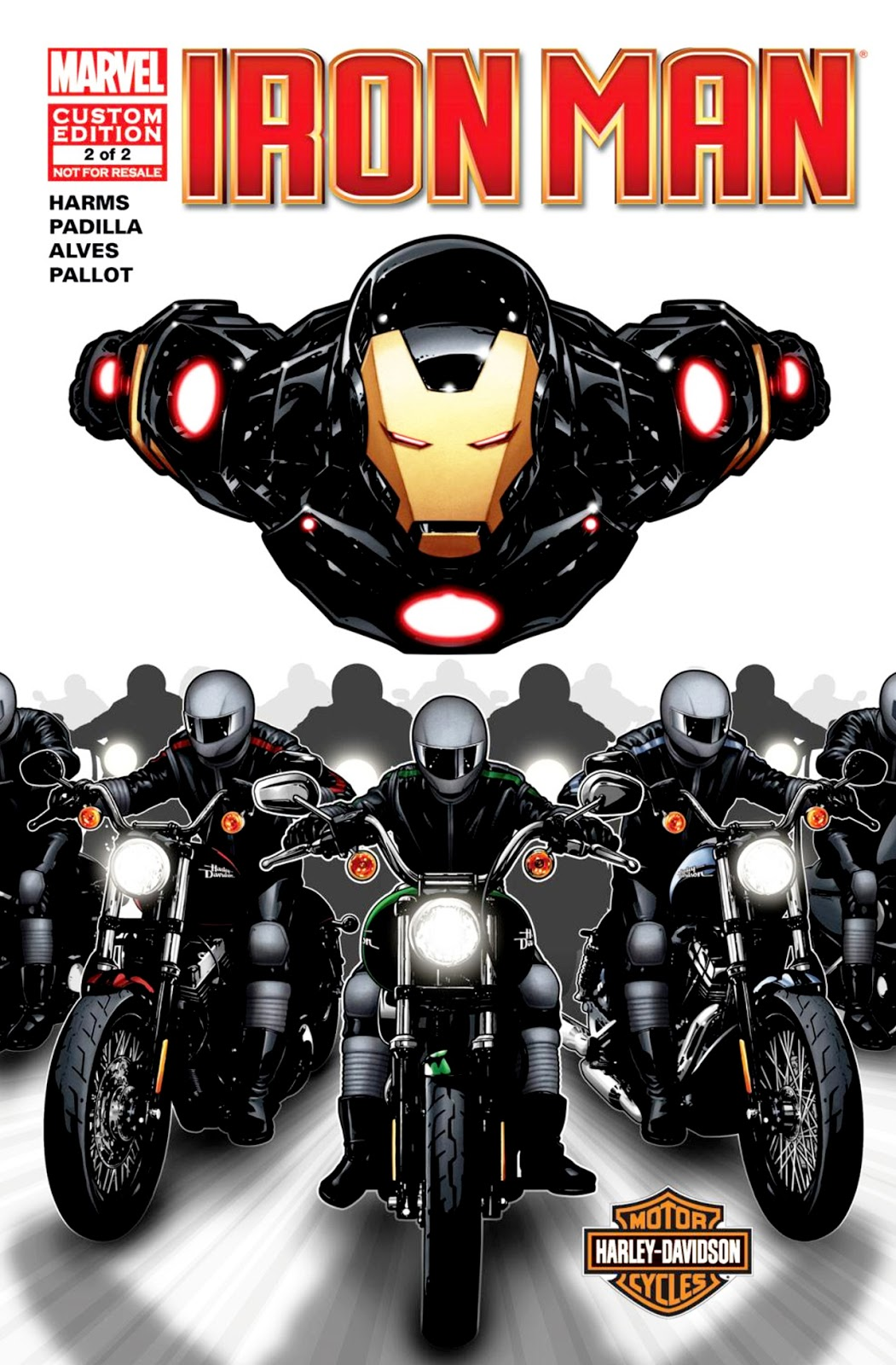 Harley-Davidson / Iron Man Vol 1 2