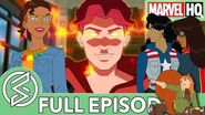 Marvel Rising Playing With Fire Feat