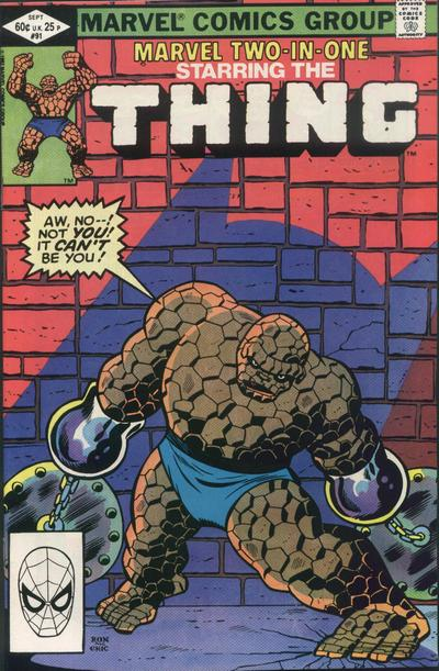 Marvel Two-In-One Vol 1 91