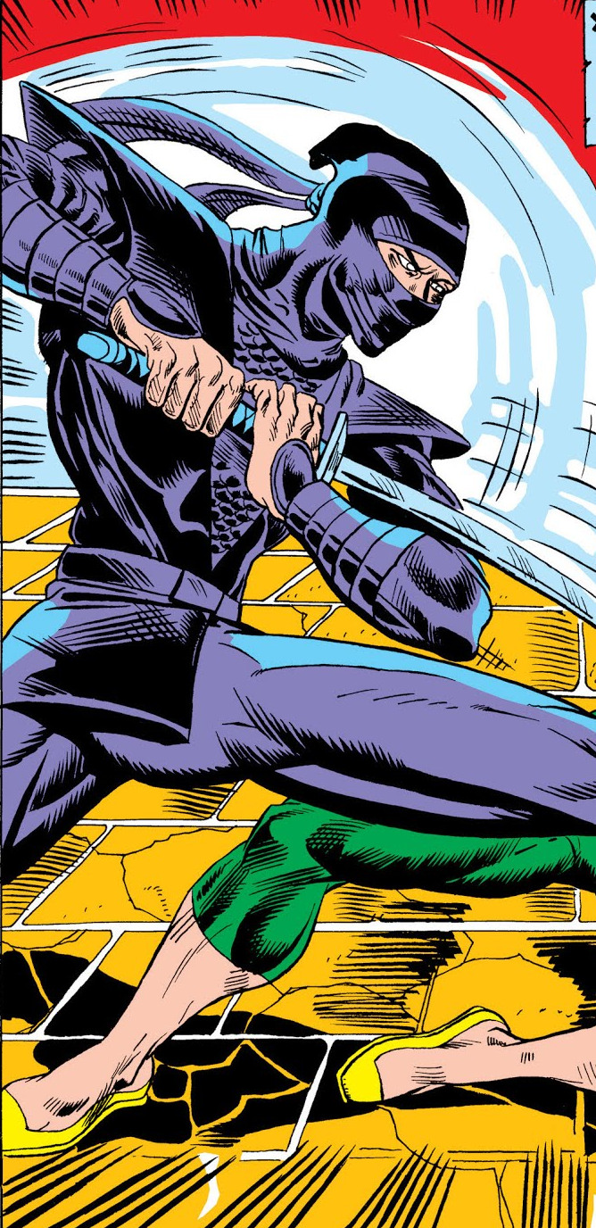 Ninja (Master Khan) (Earth-616)