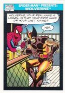 Spider-Man Presents Wolverine from Marvel Universe Cards Series I 0001