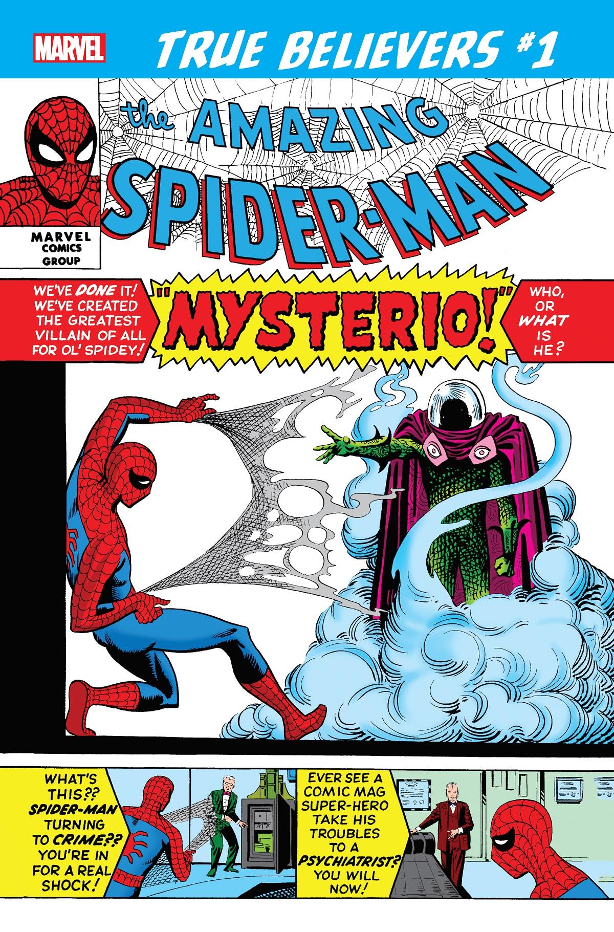 True Believers: Spider-Man vs. Mysterio Vol 1 1