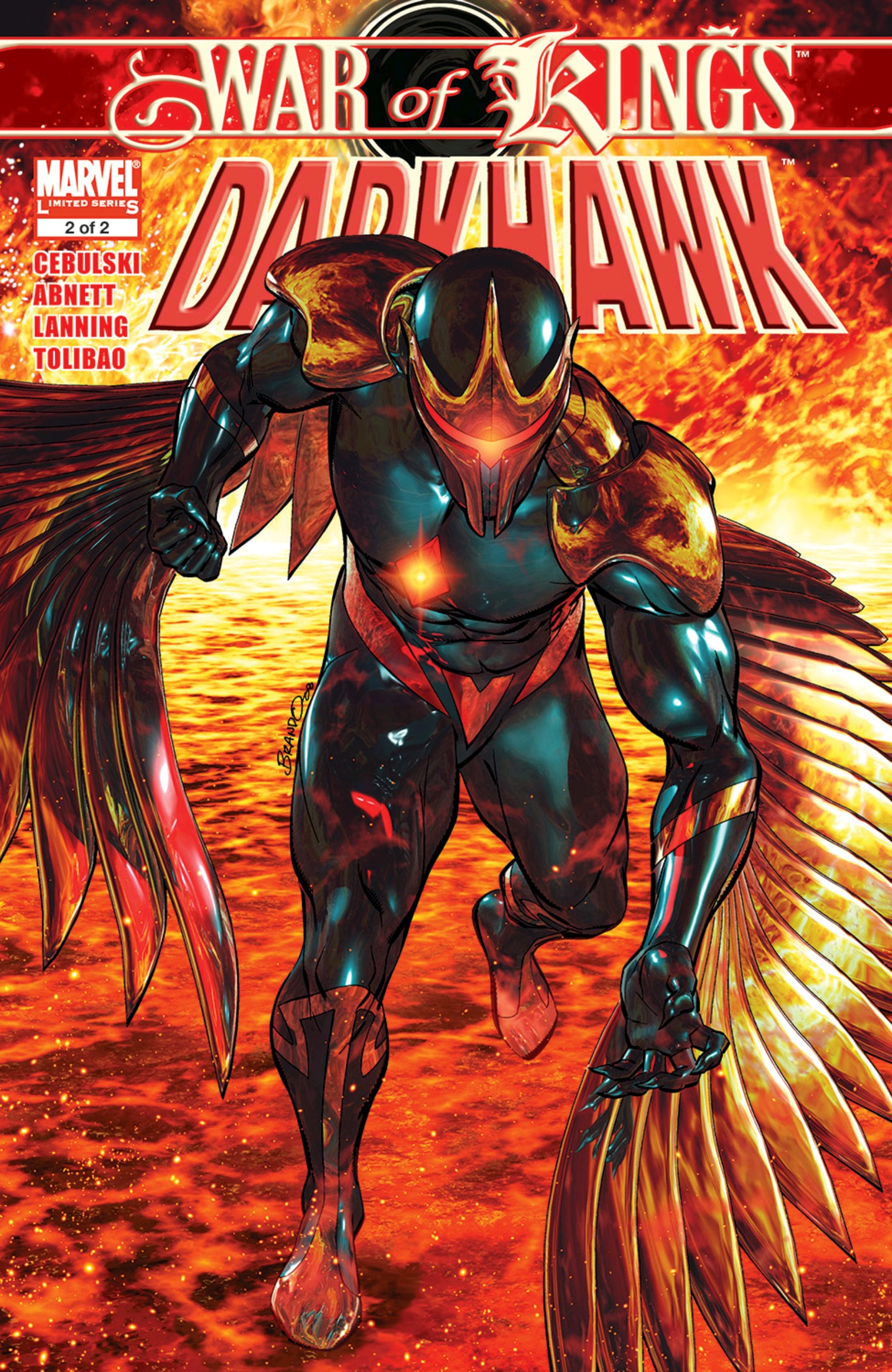 War of Kings: Darkhawk Vol 1 2