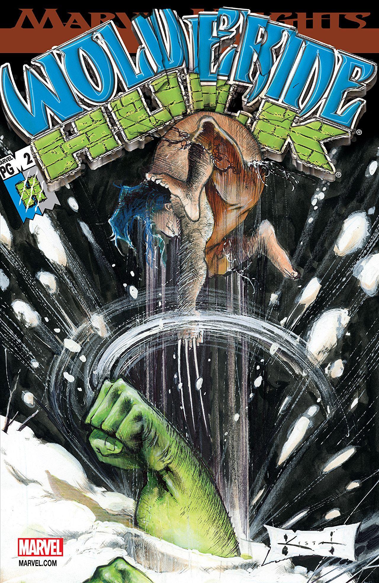 Wolverine/Hulk Vol 1 2