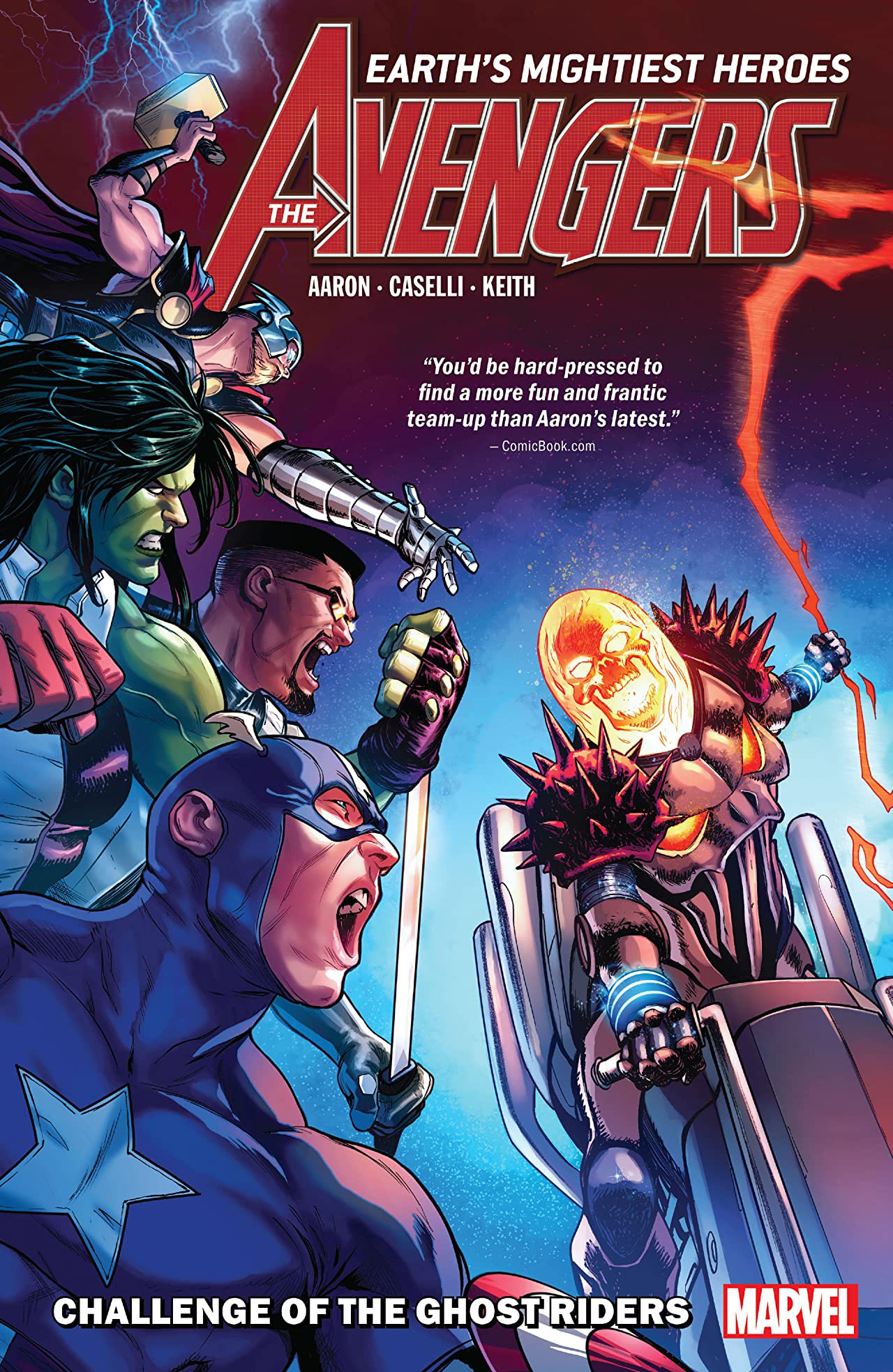 Avengers by Jason Aaron Vol 1 5: Challenge of the Ghost Riders
