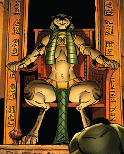 Bast (Goddess) (Earth-616) from Fantastic Four Vol 1 608 001.jpg